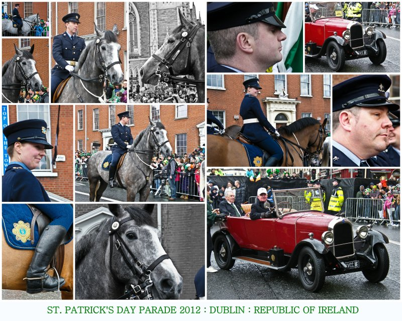 17/03/2012 : St. Patrick's Day Parade : Dublin : Republic Of Ireland : Join The Craic!