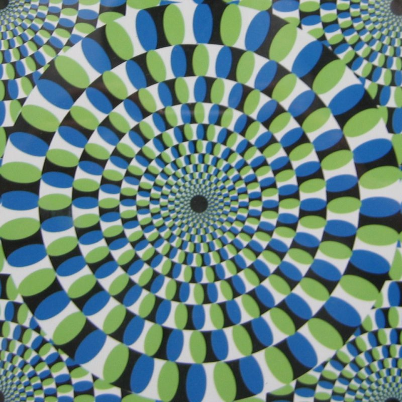 do not look at the center...