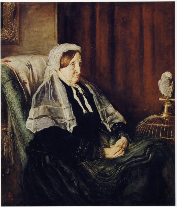John Everett Millais: Portrait of Isabella Heugh