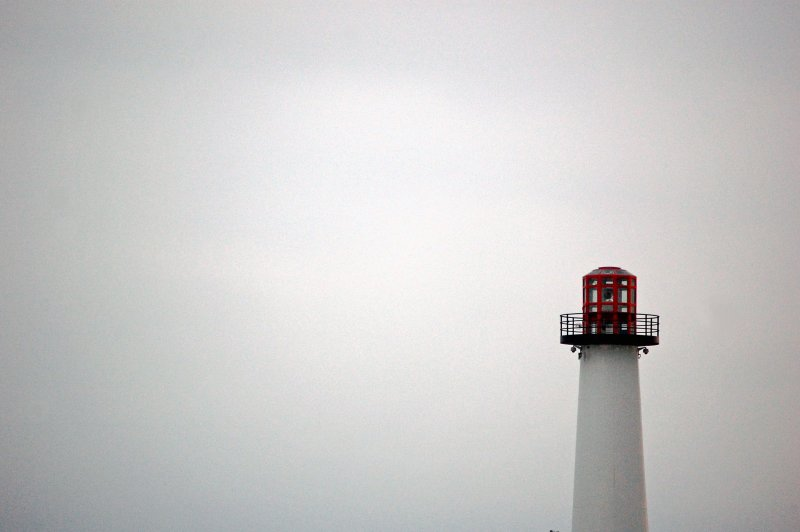 Long Beach lighthouse - negative space