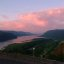 Columbia River Gorge in Pink