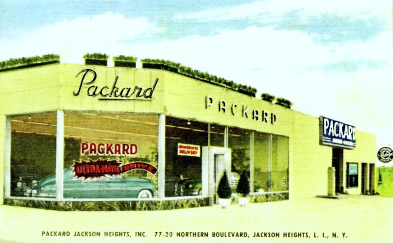 Packard Jackson Heights, Packard,  L.I., NY, 1949