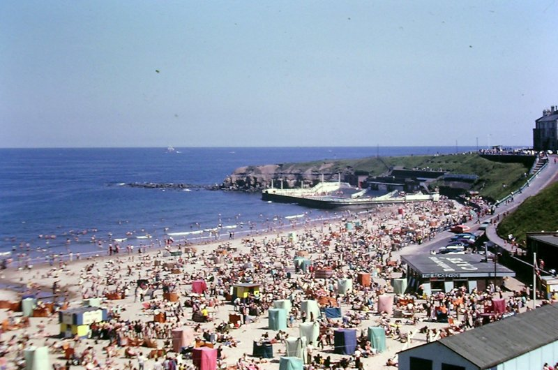 Tynemouth - Long sands forty years ago