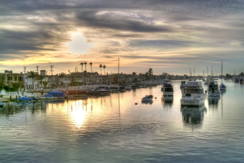 Sunset Gold (HDR)