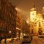 Prague: Snow at Night