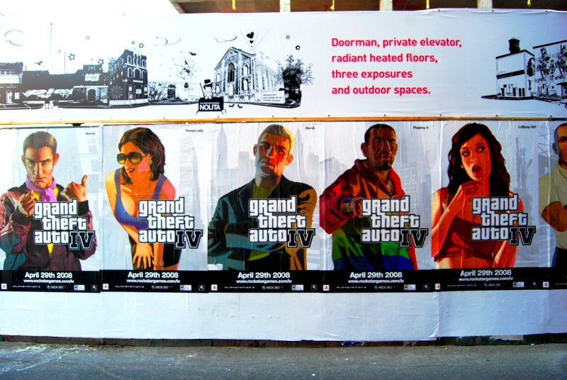 Grand Theft Auto Posters
