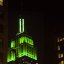 Green on the Empire State Building