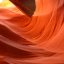 Nature's art work inside Lower Antelope Canyon