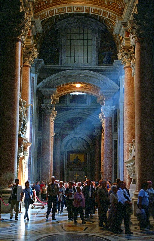 "Rome - St. Peter's Basilica ""Entrance"""