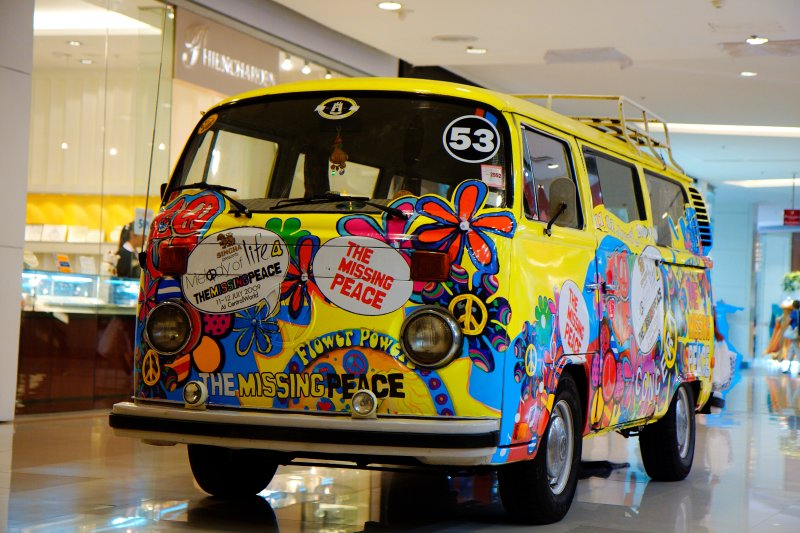 Colorful Volkswagen T2