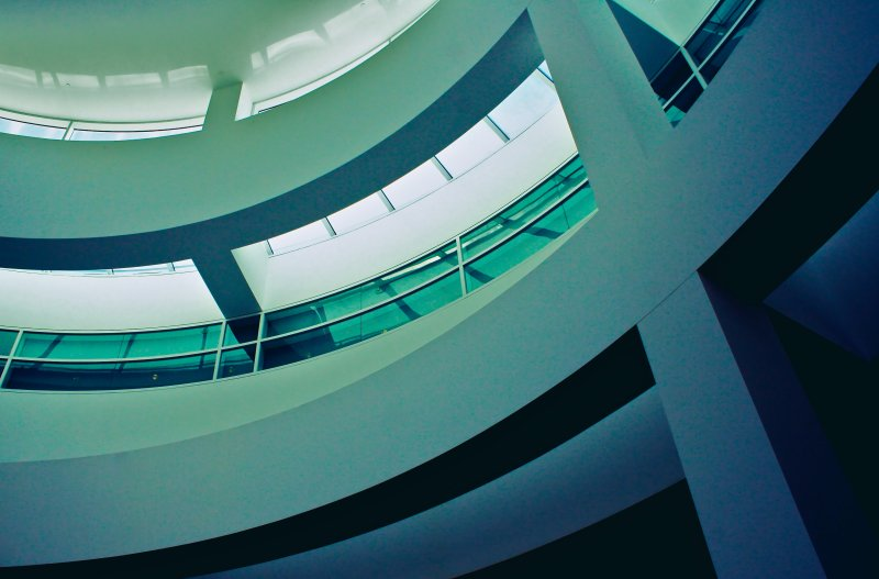 Ceiling at the Getty Center