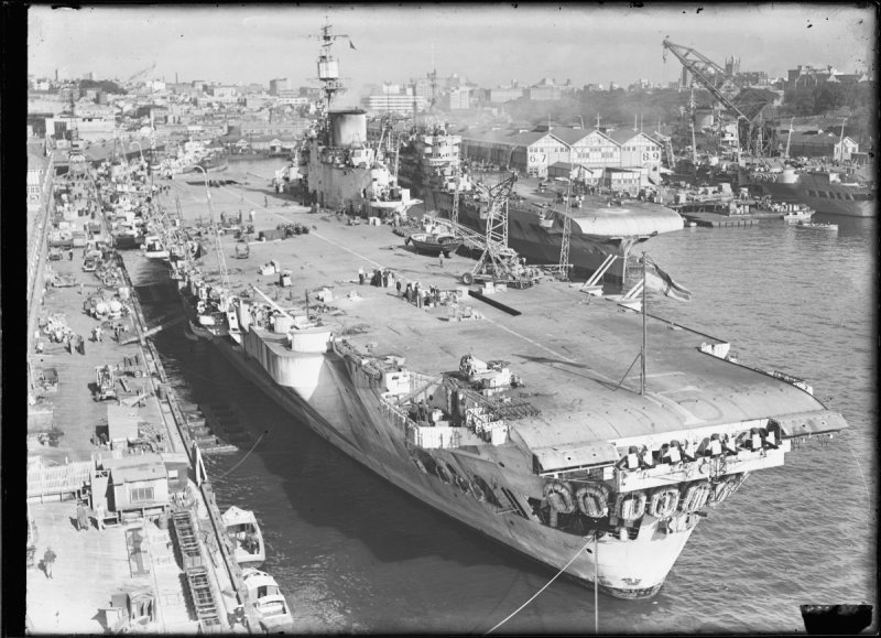 Aircraft carriers, c.1946