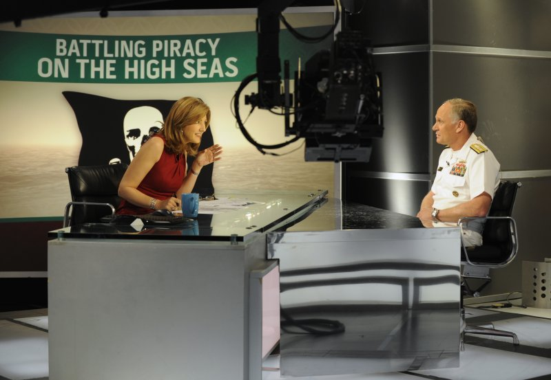 """Navy admiral speaks to anchor on the MSNBC network news show """"Jansing and Co."""""""