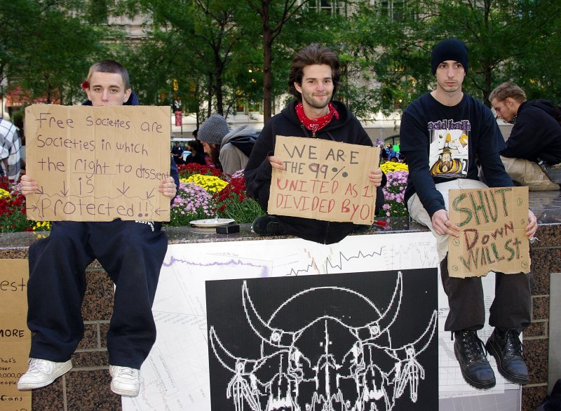 Occupy Wall Street Protesters Day 2 2011 Shankbone