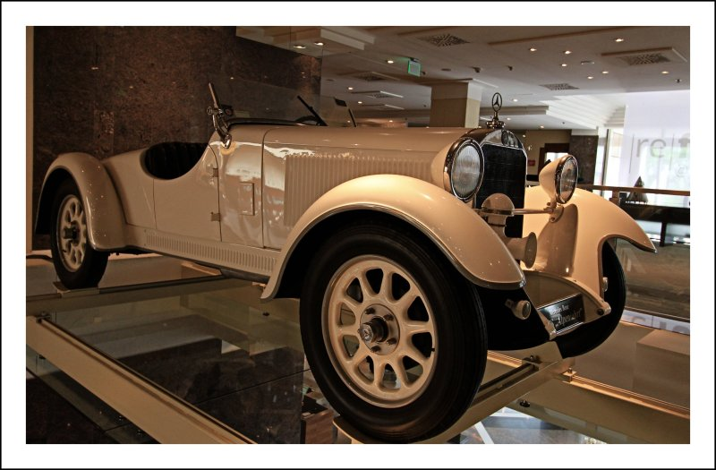 Be realistic: Plan for a miracle.  --- Osho // Mercedes-Benz Type Stuttgart 200 // 1929 // @ The Westin Grand Hotel Frankfurt // Main // Germany