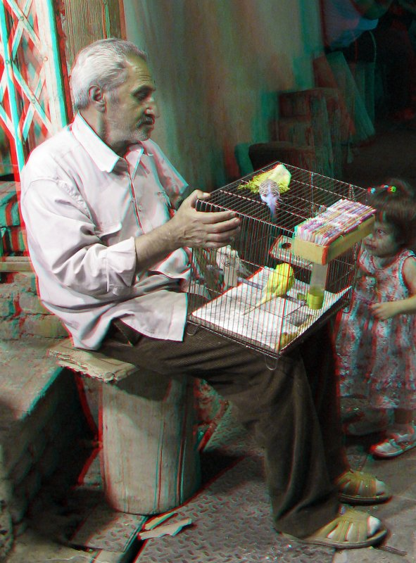 Birdman_ Anaglyph 3d: You need Red/Cyan glasses