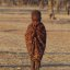 Himba child at dawn