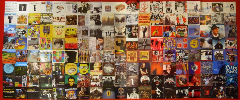 CD collection composite