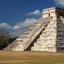Classic view of El Castillo, the Pyramid of Kukulkan, Chichen Itza