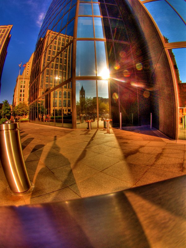 Reflections of Copley Square