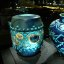 china ceramics - blue vases