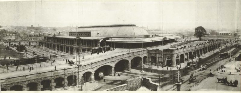 Central Railway Station from George Street, Sydney