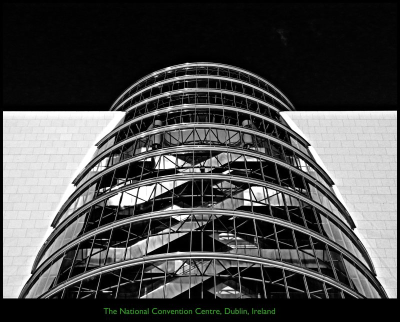 [ Ultra Modern Lines : Highlight Architectural ICON ] The National Convention Centre, Dublin, Republic of Ireland