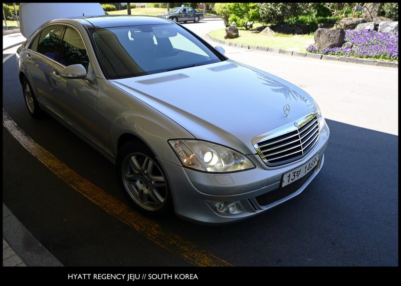 [ Mercedes-Benz S500 // Sense of Arrival ] @ The Hyatt Regency Jeju // The Island of Jeju // South Korea // Embrace & Enjoy!