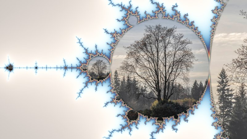 Mandelbrot  Collage