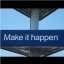 MAKE IT HAPPEN @ SCHIPHOL AIRPORT : Amsterdam, The Netherlands : OBSERVATION : SEE : FEEL : Experience and FLY : Enjoy! :)