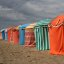 Beach Parasols at Trouville