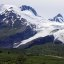 The very impressive Worthingon Glacier, near Valdez, Alaska