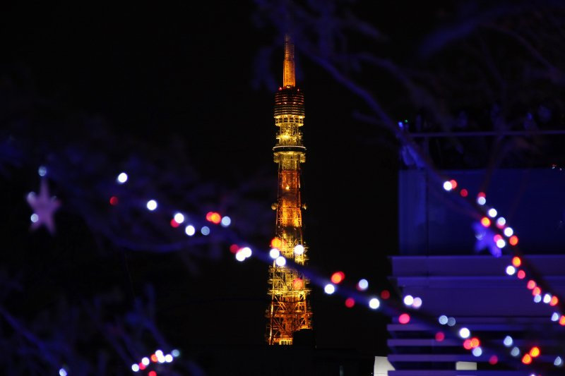 love about Tokyo Tower