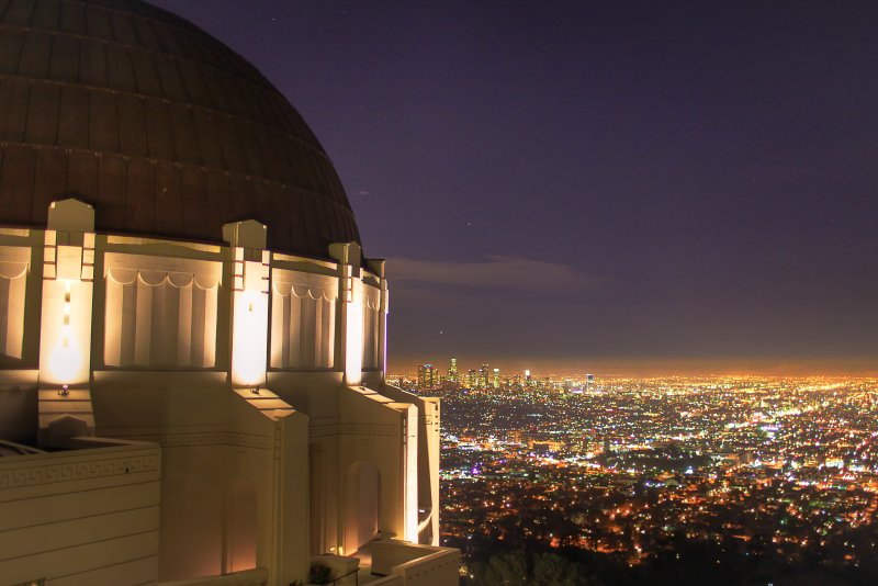 Griffith Observatory with the 5D