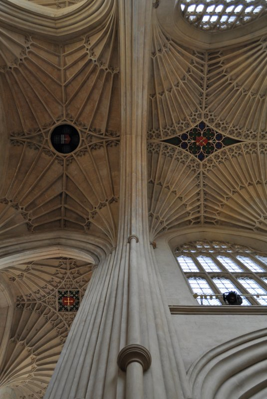 bath abbay, vaults at the crossing