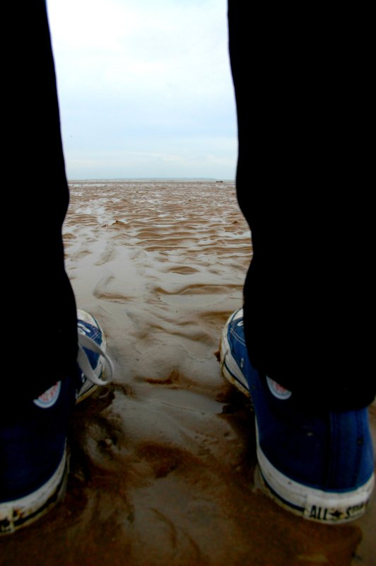 Day 287 / 365 - Standing on the beach