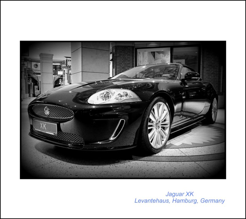 British Elegance // Powerful lines // Majestic Feel // The Jaguar XK // @ The Levantehaus // Hamburg // Germany // Enjoy & Embrace Beauty!