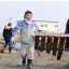 Misawa Sailors Begin Cleanup at Local Fishing Port [Image 1 of 17