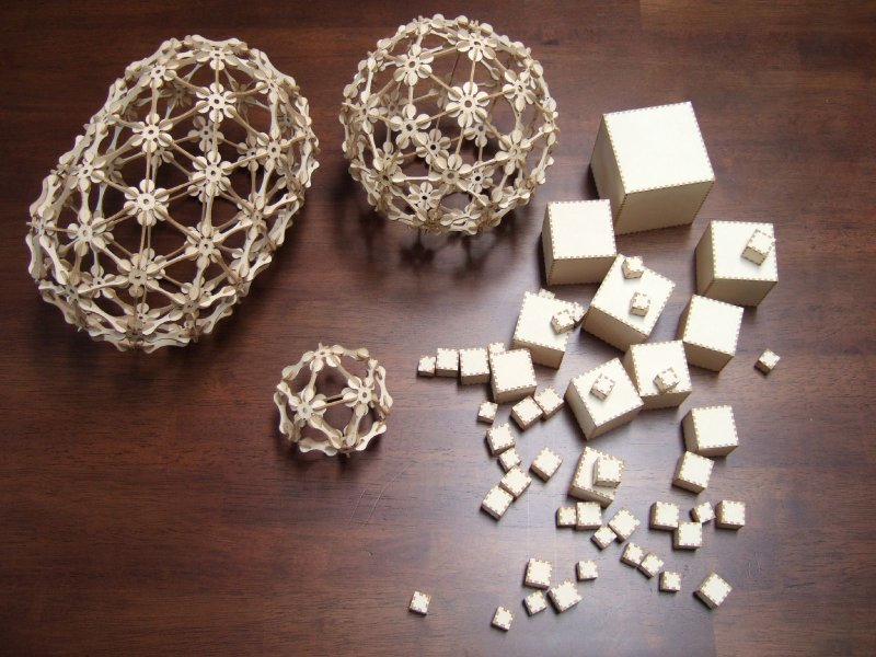 spheroids and cubes