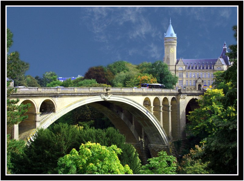 Postcard from Luxembourg