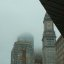Boston im Nebel