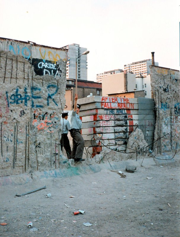 West Berlin 1990 - The Wall Comes Down.