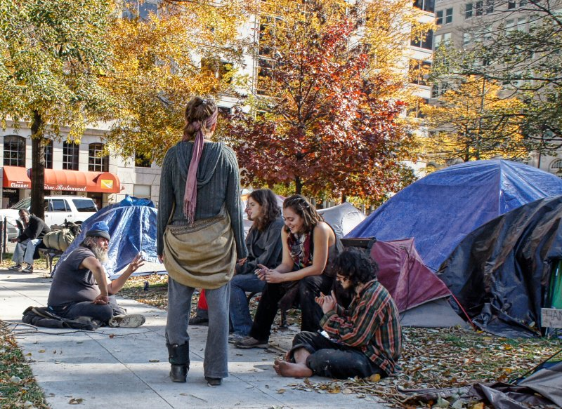 Occupy DC - Hippies