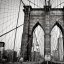 Brooklyn Bridge (B&W), NYC