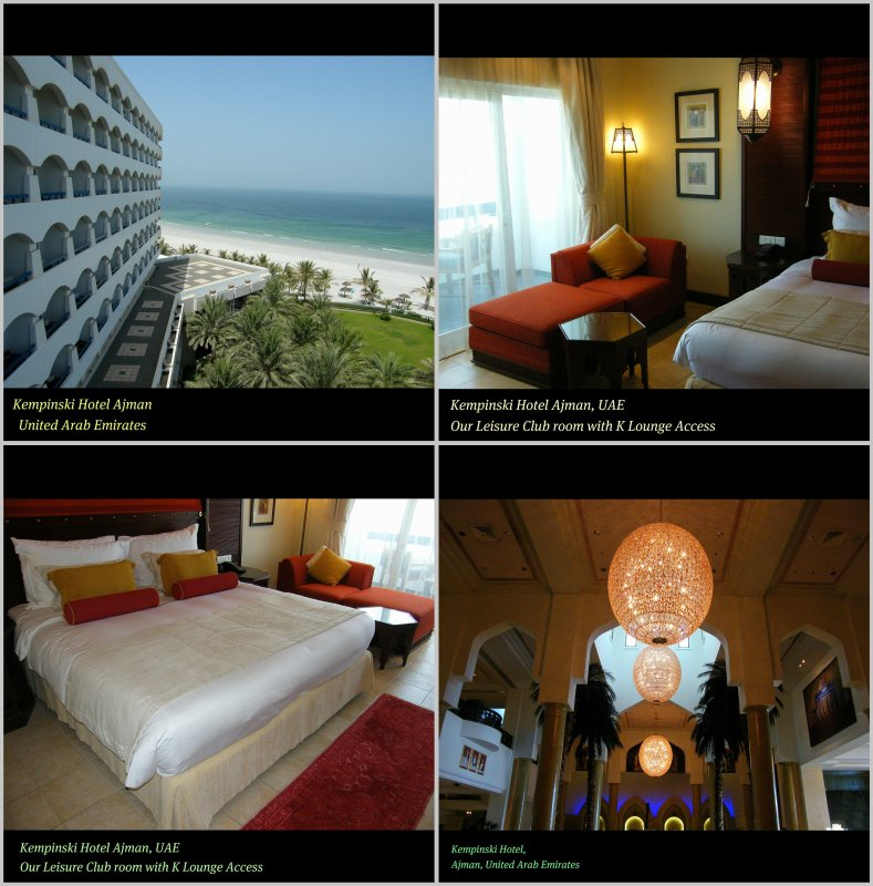 LOVE COLLAGE : The pleasure of A GRAND WELCOME : Kempinski Hotel Ajman : United Arab Emirates : ENJOY THE Pleasure of beauty and simply be, explore, SEE : FEEL : ENJOY! :)
