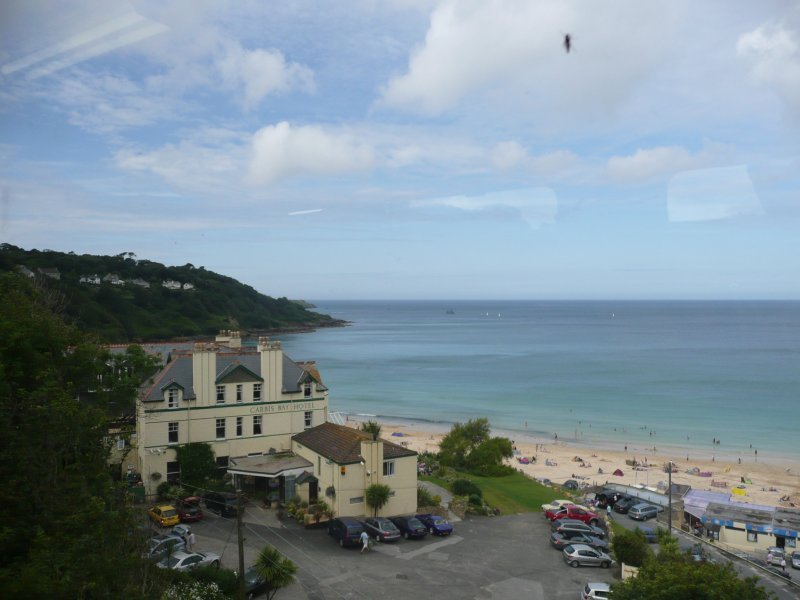 Carbis Bay And Hotel,St.Ives Bay,Cornwall