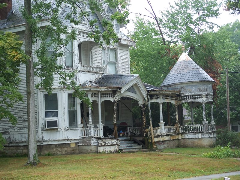 An old house that we came across in Indiana