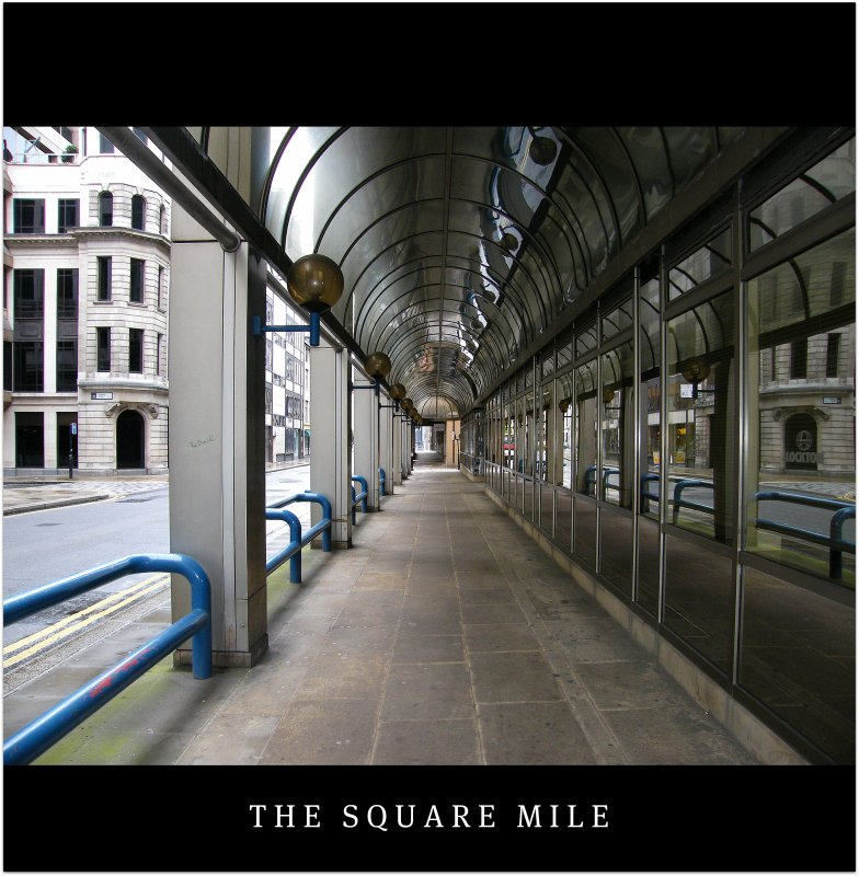 The City of London is one of the worlds powerhouses in finance and insurance services. Wonderful architectural lines! Enjoy the square mile!:)