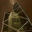 Reflection on Bank of China Tower