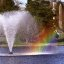 "Cincinnati - Spring Grove Cemetery & Arboretum ""Willow Lake Fountain & Rainbow"""